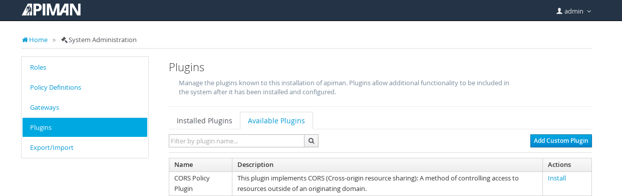 Image: Add Custom Plugin