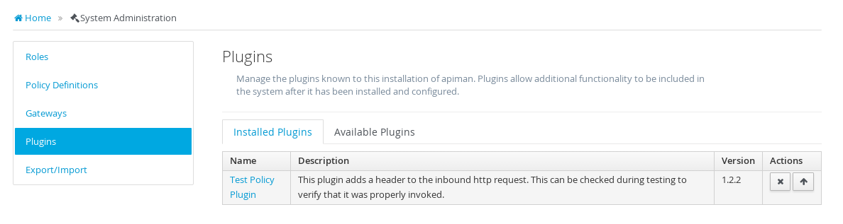 Image: Custom Plugin Added