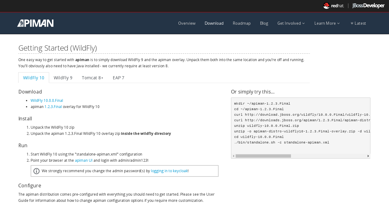 Crash Course | apiman Open Source API Management